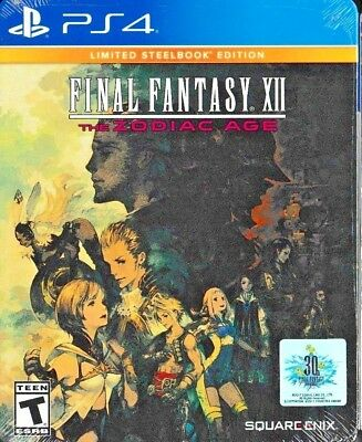 Final Fantasy XII: The Zodiac Age -- Limited SteelBook Edition (PS4, 20