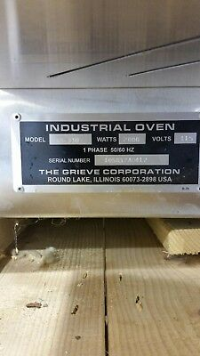 Grieve NB-350 Convection Oven