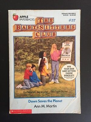 The baby-sitters club ~ Ann Martin ~ #57  ~ Dawn saves the planet