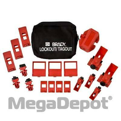 Brady 65405, Comprehensive Breaker Lockout Pouch Kit