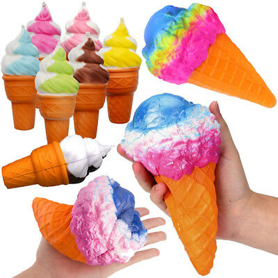 Colossal Ice Cream Super Slow Rising Squishy Scented Stress Relieve Charms Toys