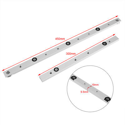 300mm 450mm Miter Slider Table Saw Aluminium Alloy Miter Bar Gauge Rod MI