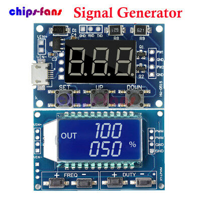 Adjustable PWM Pulse Frequency Duty Cycle Square Wave Signal Generator Module CH