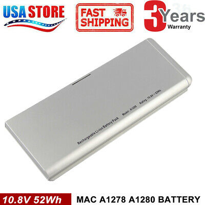 "Battery For Apple Macbook 13"" Aluminum Unibody [2008] Fits: A1278 A1280"