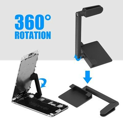 Universal 360°Adjustable LCD Screen Phone Clamp Repair Holder For iPhone Tablet
