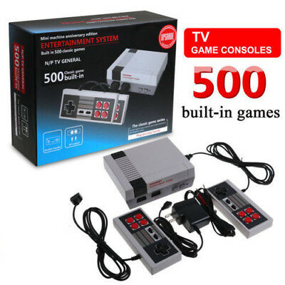 Portable Retro Classic Video Game Console Player Family TV 500 Games Xmas Gifts