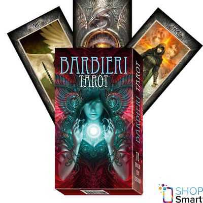 Barbieri Tarot Deck Cards Lo Scarabeo Esoteric Fortune Telling New