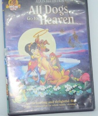 All Dogs Go to Heaven DVD