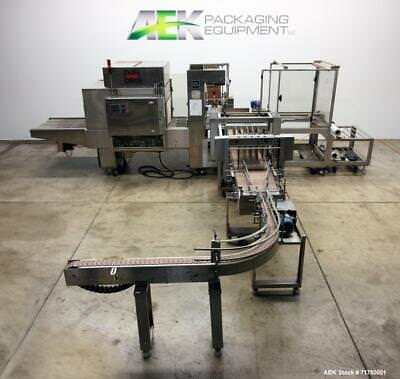 Used- Poly Pack Model PH-32HL Right Angle Shrink Bundler. Capable of speeds up t