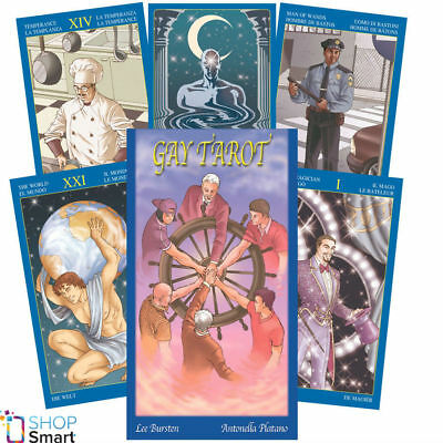 Gay Tarot Deck Cards Esoteric Fortune Telling Lo Scarabeo New