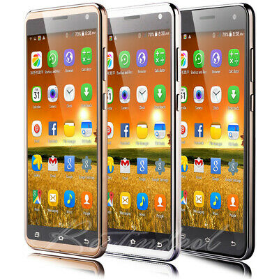 """Cheap Unlocked 5.5"""" Smartphone 3G Quad Core Dual SIM Android5.1 Mobile Phone GSM"""