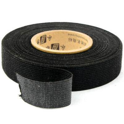 19mmx15m Tesa Coroplast Adhesive Cloth Tape for Cable Harness Wiring Loom New