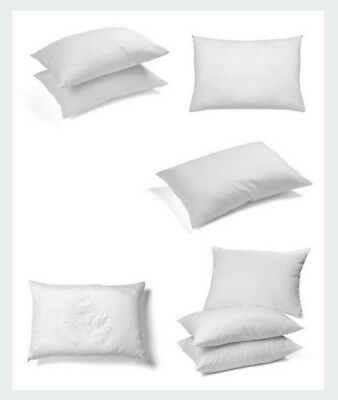 LOWEST PRICED 8 Pack Of Deluxe Hotel Soft Bounce Bed Pillows WITH FREE UK P&P