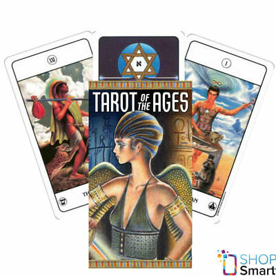 Tarot Of The Ages Cards Deck Civilizations Esoteric Telling New