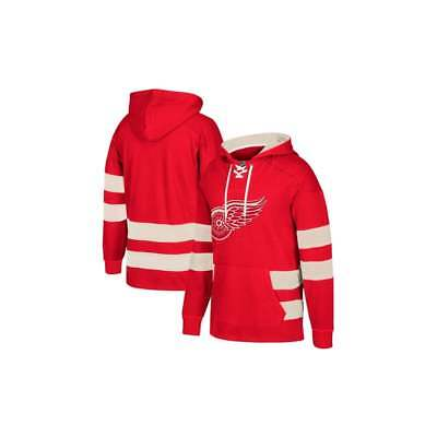 CCM NHL Detroit Red Wings Pullover Jersey Hood
