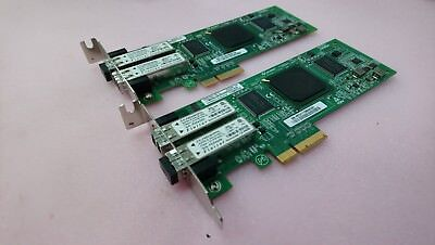 2 x HP Dual FC Fibre Channel Adapter Card 407621-001 PX2510401-69