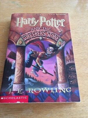 Harry Potter And The Sorcerer's Stone By J. K. Rowling 1999 Trade Paperback Book