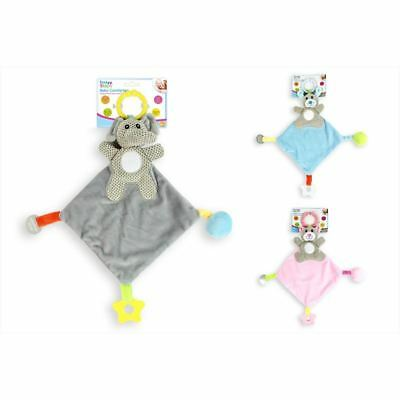 First Steps Animal Baby Comforter Doudou Activity Toy 0m+