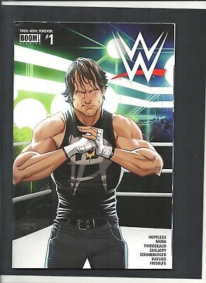 WWE #1 Then Now Forever NOV 2016 AMBROSE Cover  BOOM! Comics
