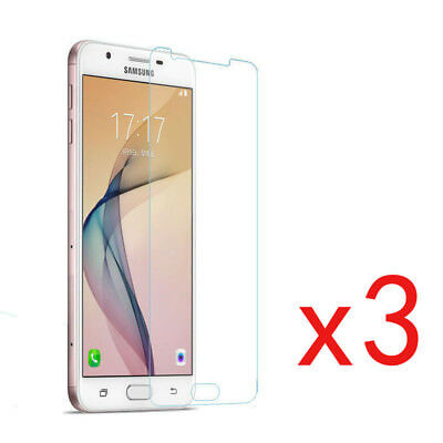 3Pcs Tempered Glass Protective Screen Protector Film for Samsung Galaxy J3 J5 J7