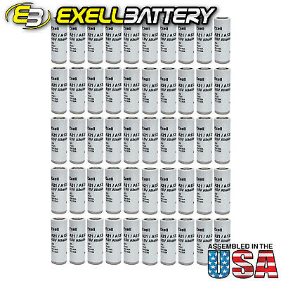 50x Exell A21PX  4.5V Alkaline Battery 523 EN133A PC133A PX21 1306AP USA SHIP