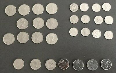 Canada 5,10,25 Cents Coin Lot.From 1962-2004.Some Uncirculated.Good Looking !!