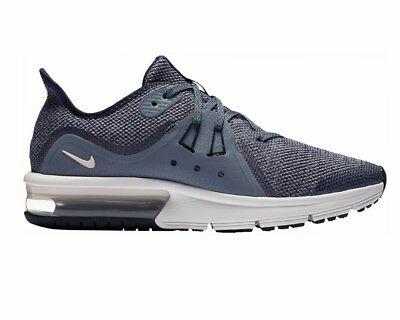buy online 2f649 ae15d Boys Nike Air Max Sequent 3 GS 922884 400 Girls Trainers Blue Ladies Gym  Shoes