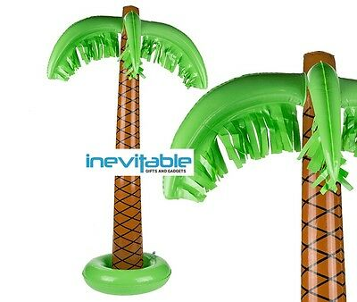 "Inflatable Palm Tree 3ft 87cm 34"" Hawaiian Beach Summer Party Props Decorations"