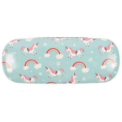 Hard Beautiful Glasses Case Unicorns and Rainbows Reading Spectacle Sunglasses