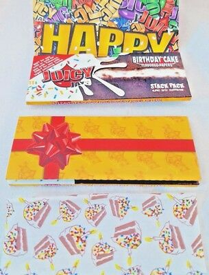 King size Supreme Rolling Paper Juicy Jay's HAPPY BIRTHDAY CAKE GIFT