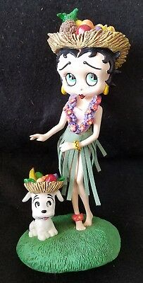 BETTY BOOP Figurine Danbury Mint HAWAIIAN HOLIDAY ♡ excellent condition ♡