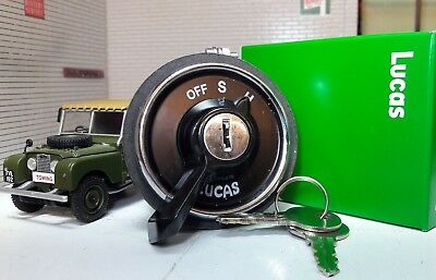 Genuine Lucas OEM 217589 Headlight Ignition Switch & Key Land Rover Series 1 80