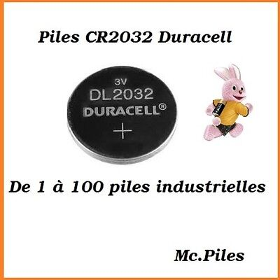 Piles/Cells boutons 3V lithium Duracell CR2032 **FREE SHIPPING***
