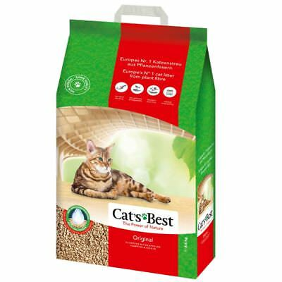 30 60 LITRES CATS BEST OKO PLUS ORIGINAL CAT LITTER 13.5kg, 27kg OKOPLUS