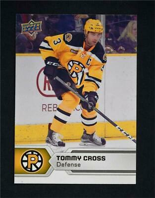 2017-18 17-18 UD Upper Deck AHL Hockey Base #60 Tommy Cross