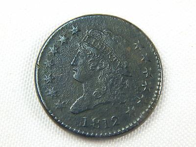 1812 Large Cent Xf Pores