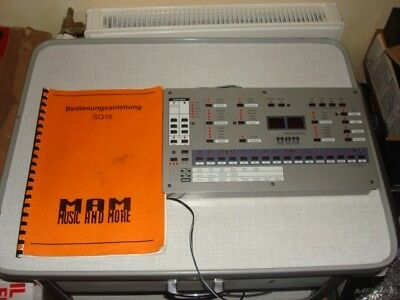 MAM SQ 16 SQ16 SQ-16 Sequencer