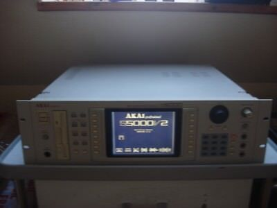 Akai S5000 S 5000 S-5000 Sampler 256MB 64 Voices OS 2.12