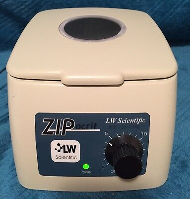 ZIPocrit LW Scientific ZO-1 Portable Centrifuge with Power Supply - VGC