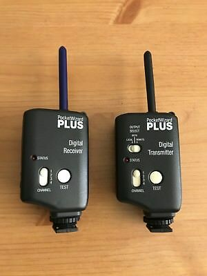PocketWizard Plus Digital Transmitter and Digital Receiver Pocket Wizard - Great