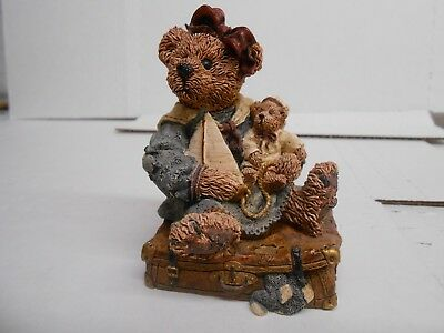Boyd's Bears And Friends Resin Figurine A Journey Begins With A Single Step