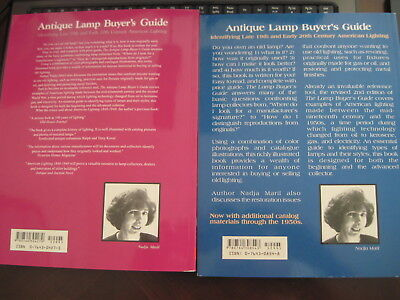 Antique Lamp Buyers Guide by Nadja Maril with Value Guide c.1998