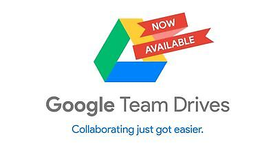 Google Drive Unlimited added to your Google Account With Team Drive