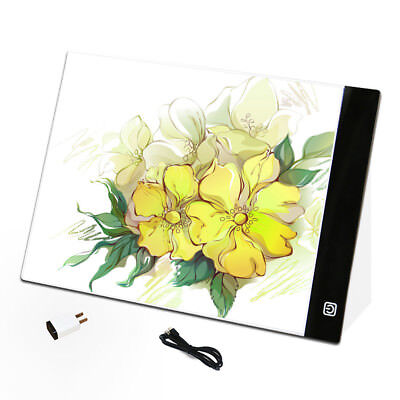 LED Writing Painting Light Box Tracing Board Copy Pads Drawing Digital Tablet AU