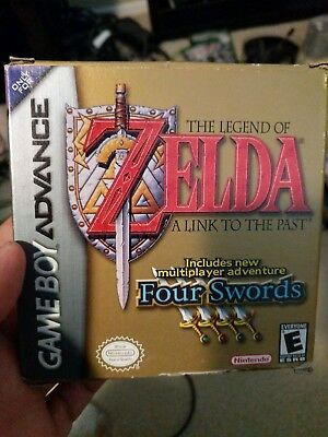 Legend of Zelda: A Link to the Past (Nintendo Game Boy Advance, 2002) Complete
