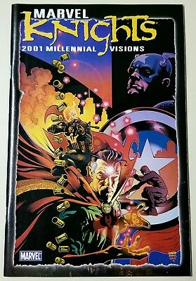 Marvel Knights Millennial Visions 2001 #1 1st Ghost Rider/Punisher App. UNREAD