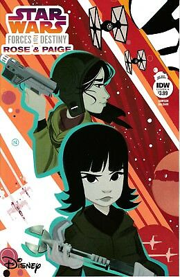 STAR WARS ADV FORCES OF DESTINY ROSE & PAIGE #1 - Cover A - NM - IDW