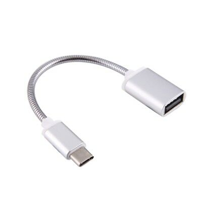 Metal USB-C 3.1 Type C Male To USB Female OTG Data Sync Converter Adapter Cable