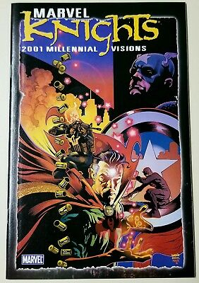 Marvel Knights Millennial Visions 2001 #1 1st Ghost Rider/Punisher App. VF
