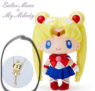 Sailor Moon × My Melody Collaboration Necklace from Japan (Doll is NOT included)